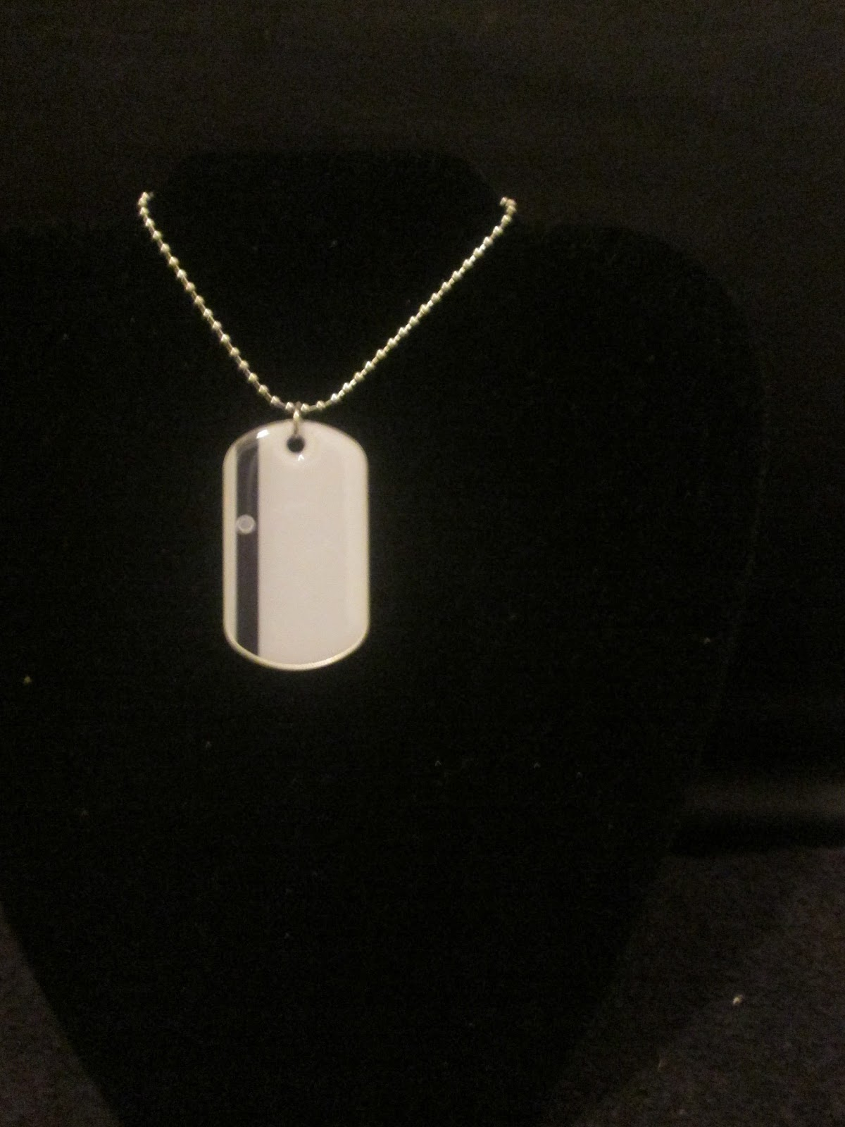 Stylish dog tag necklaces by Noneillah's Sean Cos Mason ...