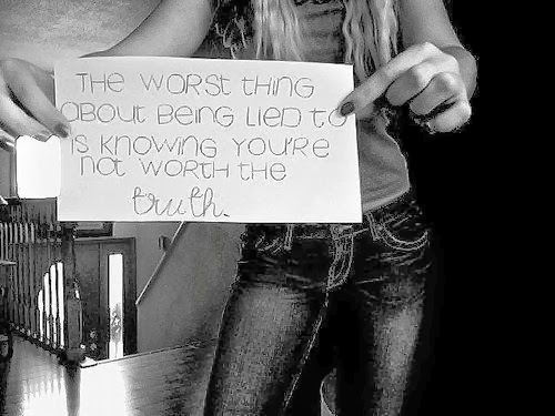 you re the worst thing: