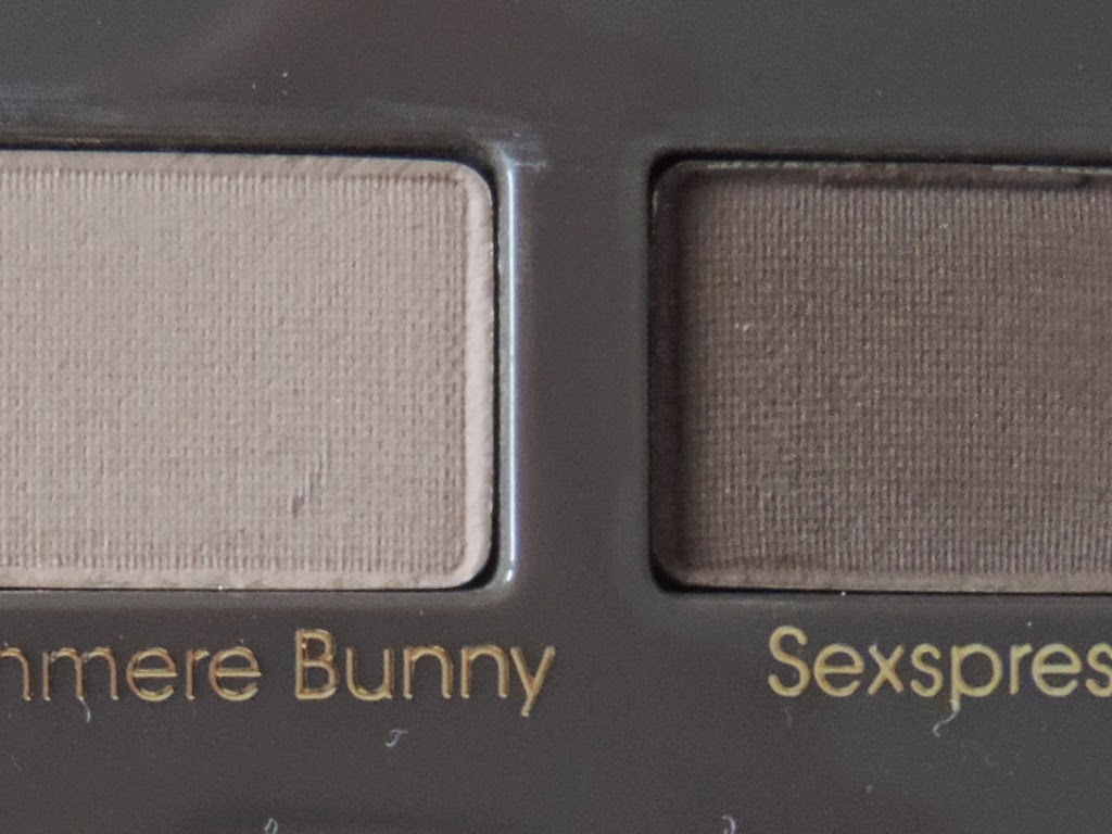Close up Too Faced Natural Eyes Palette