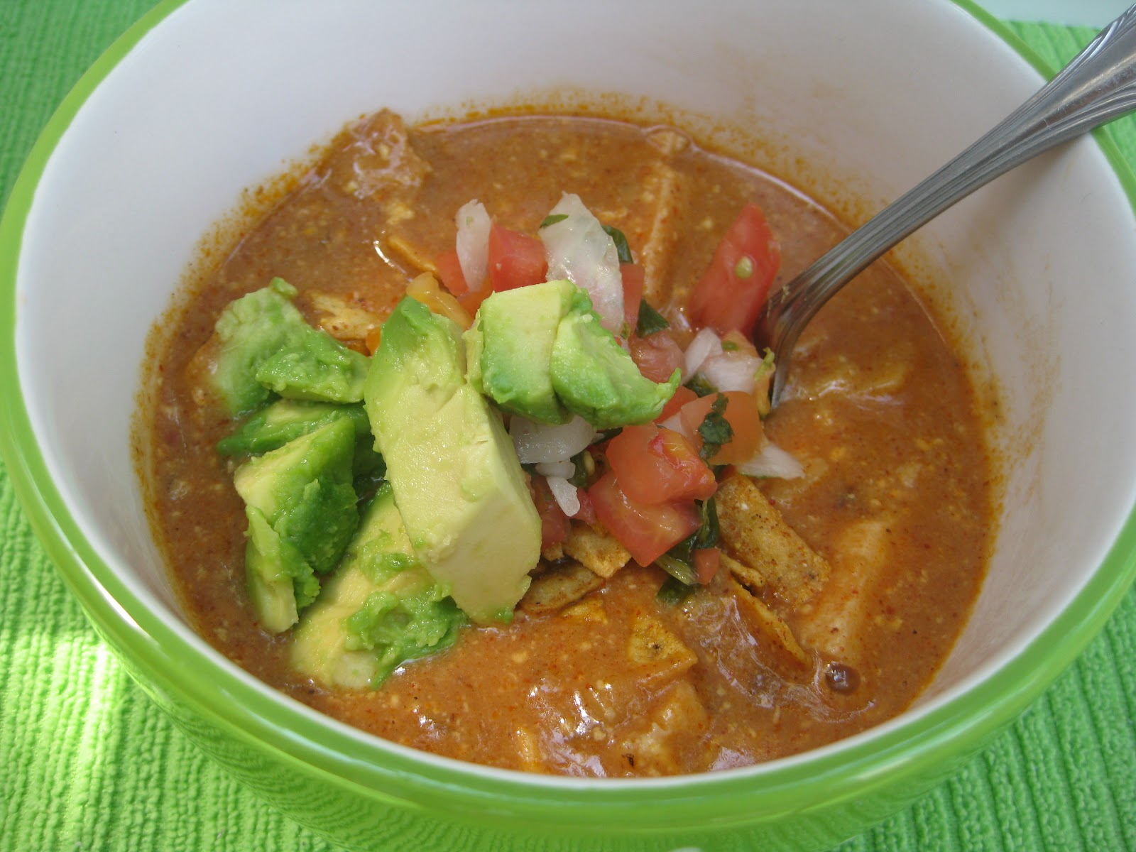 Heidi's Recipes: Crock Pot Chicken Tortilla Soup Recipe