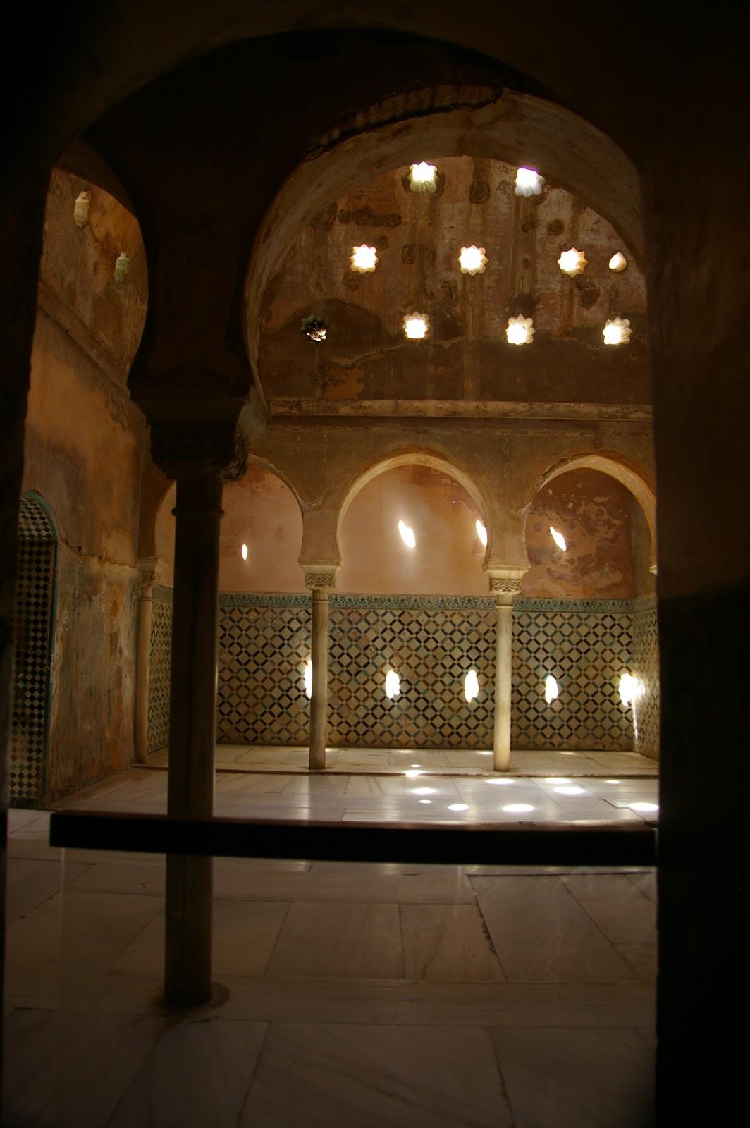 Fotos de viajes los ba os de comares alhambra - Banos arabes palacio de comares ...