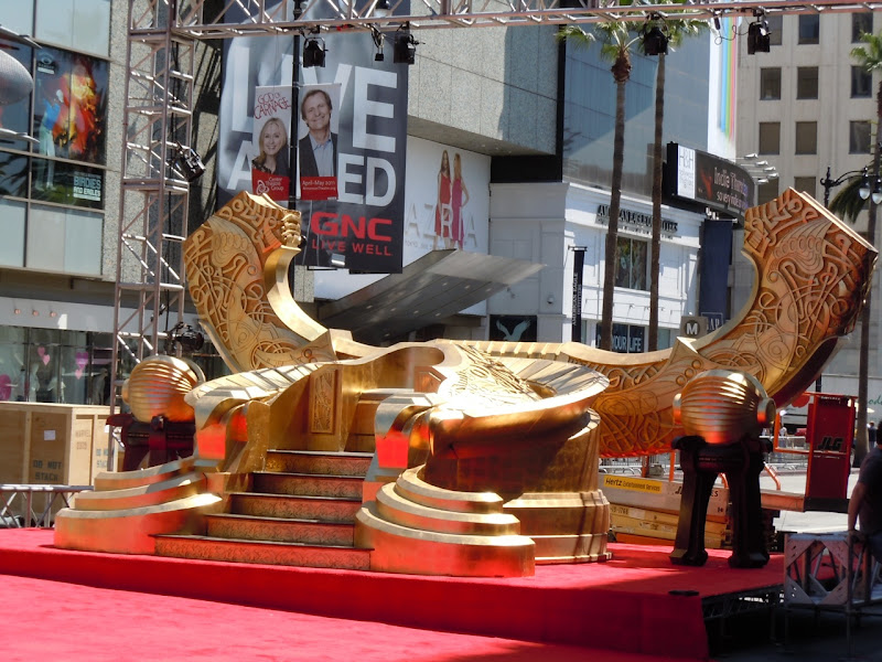 Thor Hollywood premiere Odin Throne