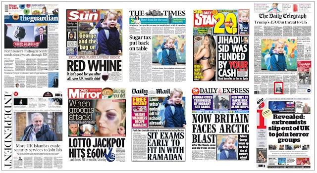 Jan 7 front pages