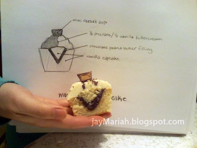 jayMARIAH: Food: Moose Tracks Inspired Cupcakes