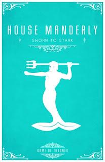 emblema casa Manderly - Juego de Tronos en los siete reinos