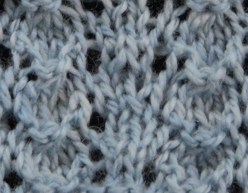 Knitting Stitch Shell : Little Shell Stitch The Weekly Stitch