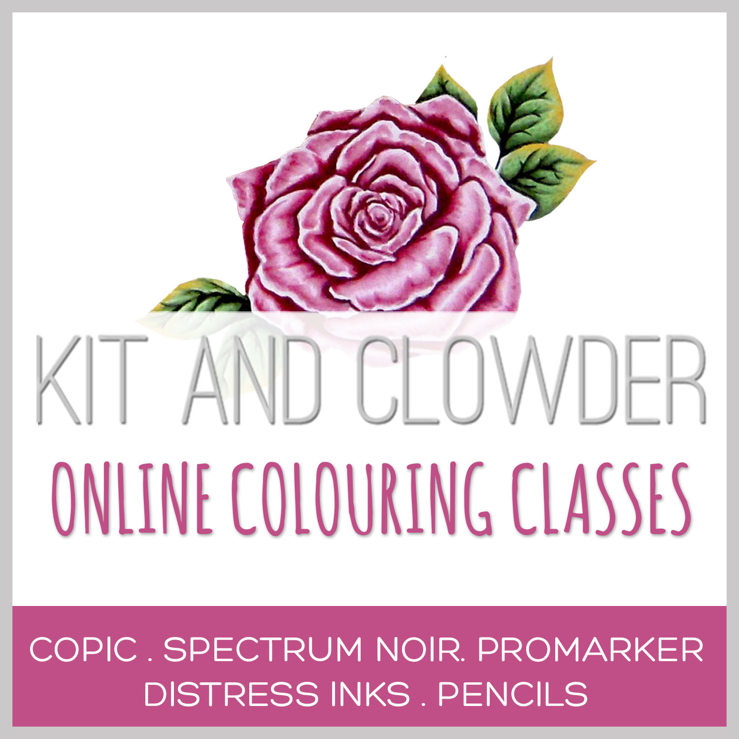 Kit & Clowder Colouring Class