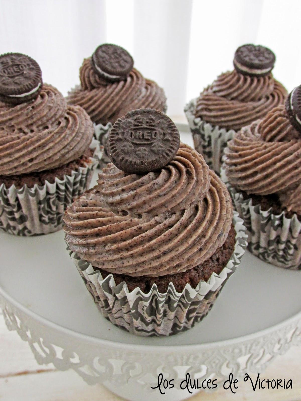 La MEJOR RECETA de cupcakes de Oreo