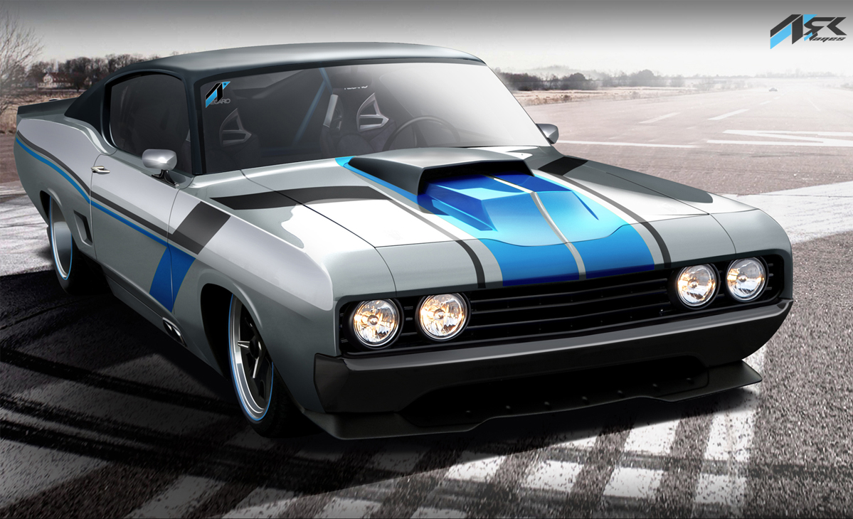 Virtual Tuning Studio By Ark Llanes Ford Torino