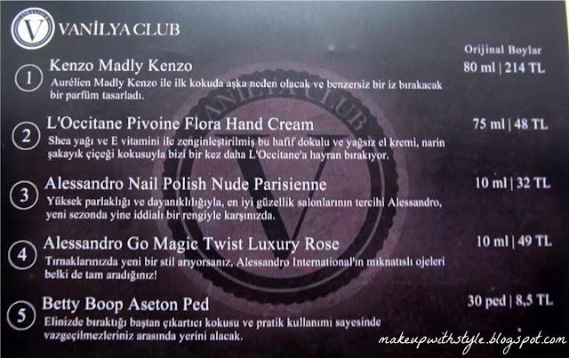 """""""Vanilya Club"""""""