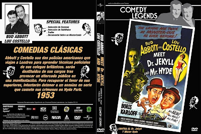 Abbott y Costello conocen al Dr. Jekyll y Mr. Hyde | 1953 | Meet Dr. Jekyll and Mr. Hyde