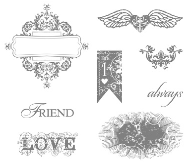 Affection Collection Stamp Brush Set - Digital Download
