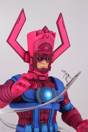 Galactus with Silver Surfer Collectible Statue, limited edition, $120.00