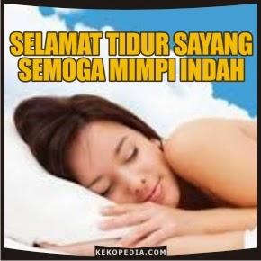 Dp BBM Ucapan Selamat Tidur Buat Pacar