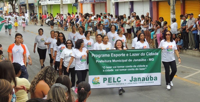 PELC JANAÚBA DESFILE 2014