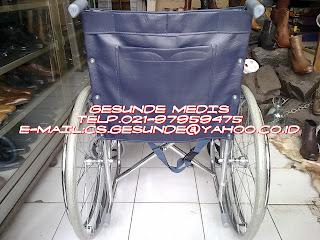 jual alat bantu medik kursi roda yang murah dan ekonomis