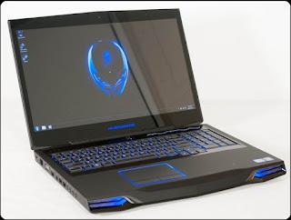 Spesifikasi Dell Alienware M17x R4