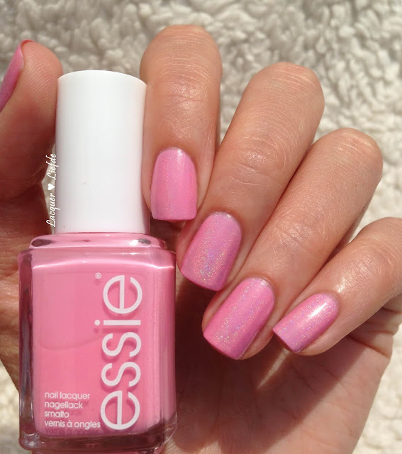 Essie Need a Vacation with Dance Legend Top Prismatic Holo Topcoat