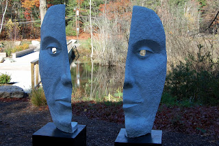 Franklin Sculpture park - 2 faces