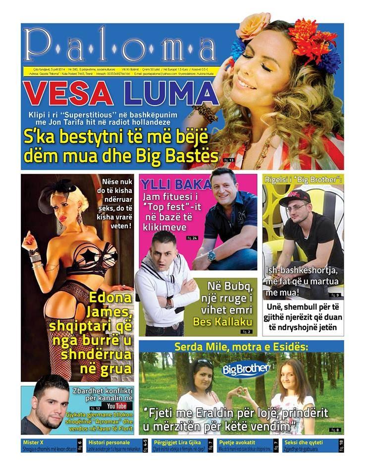 Revista PALOMA - 5 Prill 2014