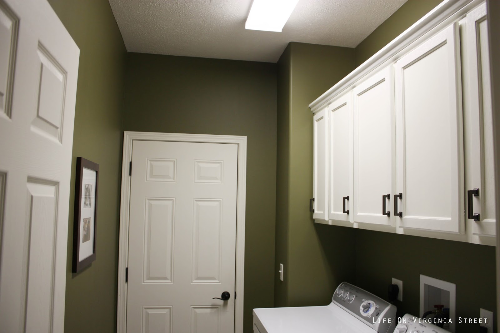 Paint colors life on virginia street - Paint colors for laundry room ...