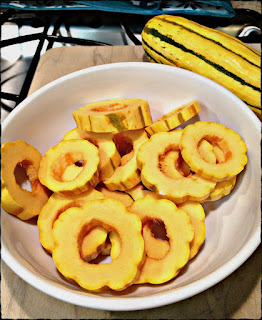 Recipe: Roasted delicata squash