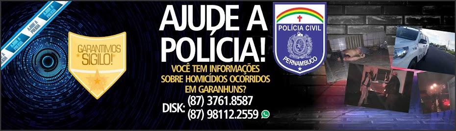 AJUDE A POLICIA!