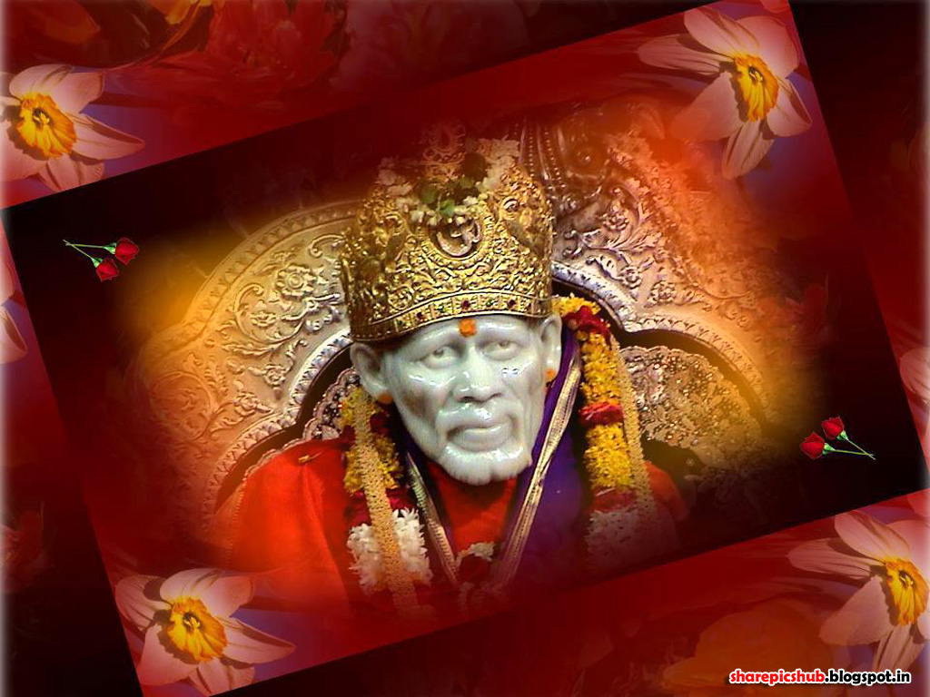 sai baba of shirdi hd wallpaper for desktop sai baba pc