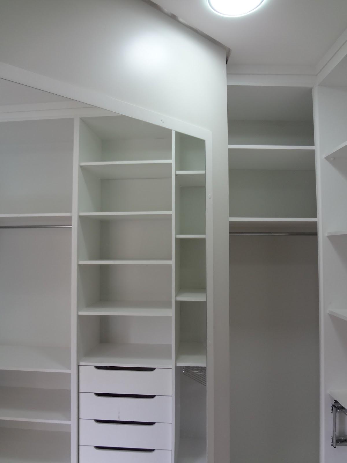 Muito Closet em MDF branco tx   Rafinha Paim HW61