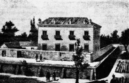 Foto: casa de las 7 chimeneas madrid