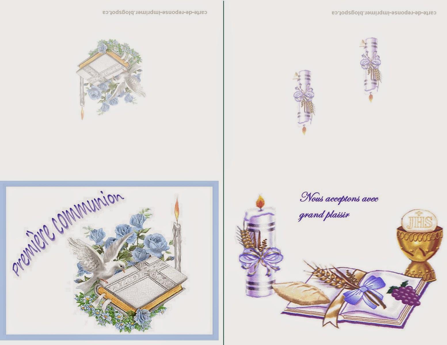 Fabuleux CARTE DE REPONSE A IMPRIMER: Carte de reponse pour invitation  IY13