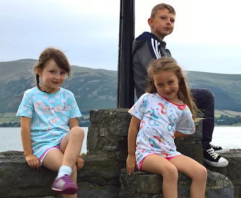 Rebekah, Lily and Joshua Kerrigan
