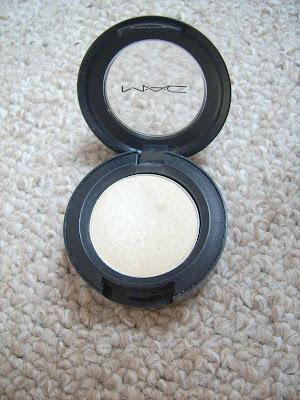 MAC eyeshadows Nylon