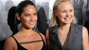 Olivia Munn and Alison Pill