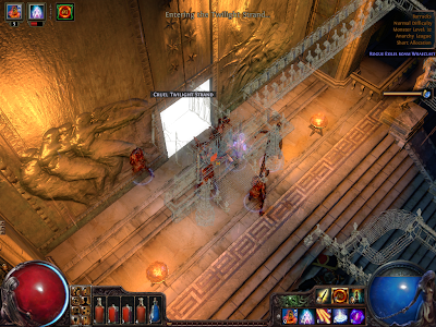 Path of Exile - Sceptre of God Doorway