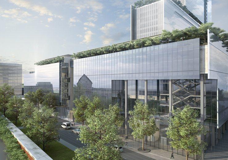 Nuovo palazzo di giustizia rpbw renzo piano building for Gettare i piani del workshop