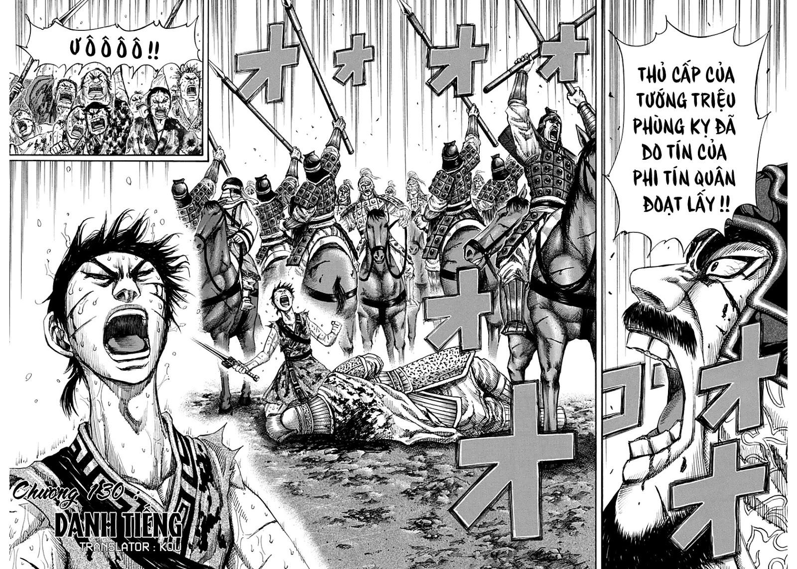Kingdom - Vương Giả Thiên Hạ Chapter 130 page 7 - IZTruyenTranh.com