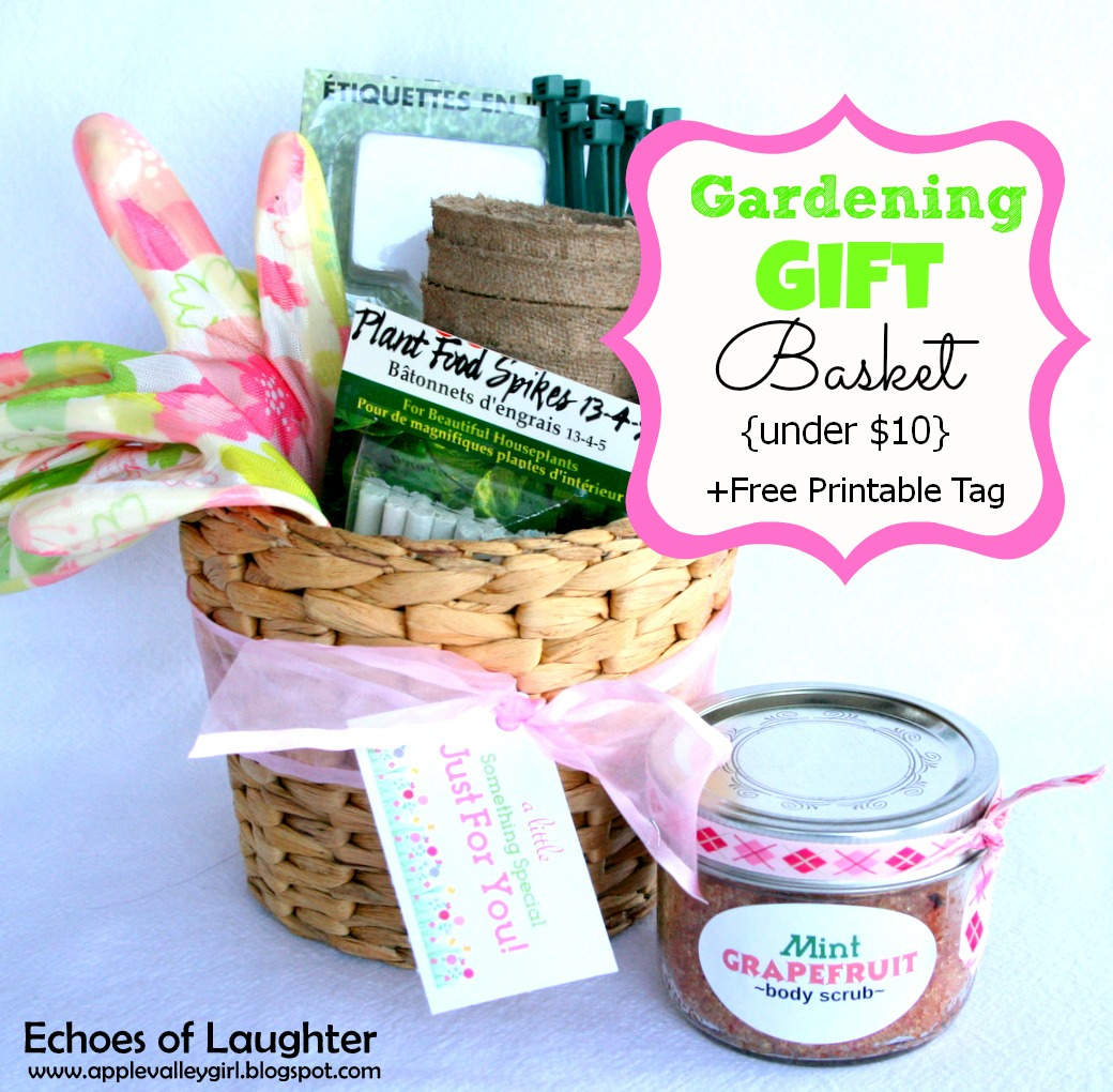 Charlys room gardening gift basket free printable tag my blog readers are such special people to me i designed this sweet little gardening tag that you can use to finish off your gardening gift basket too negle Image collections