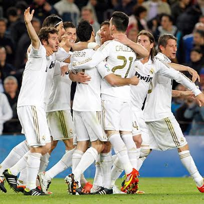 victoria del Real Madrid en el Camp Nou