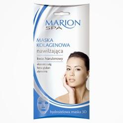 Nawilżająca maska kolagenowa z serii Marion SPA