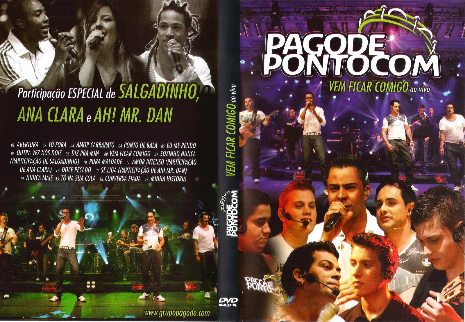 Pagode PontoCom Vem Ficar Comigo DVDRip XviD (2011) Pagode Ponto Com Vem Ficar Comigo Ao Vivo