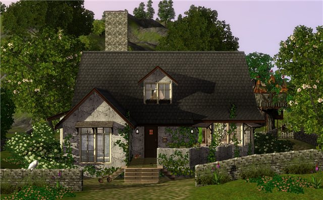 My sims 3 blog old novella by frau engel for Novella homes