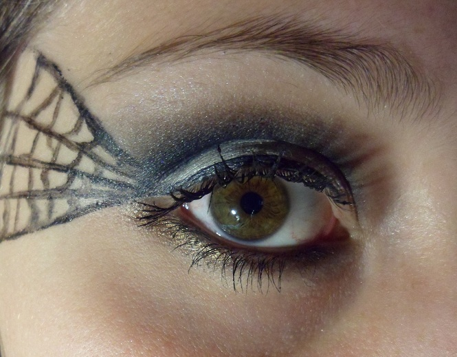 Luhivys Favorite Things Halloween Makeup Spider Web