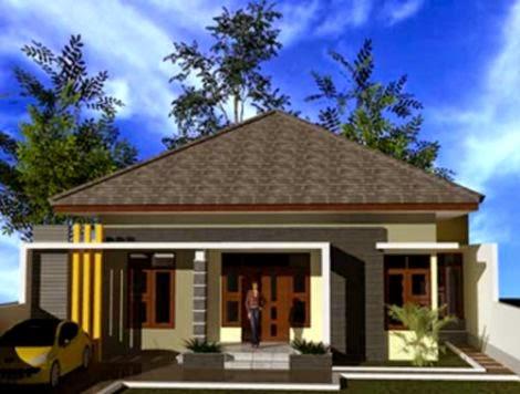 Desain Rumah Minimalis Idaman Keluarga   Model Rumah TerbaruModel