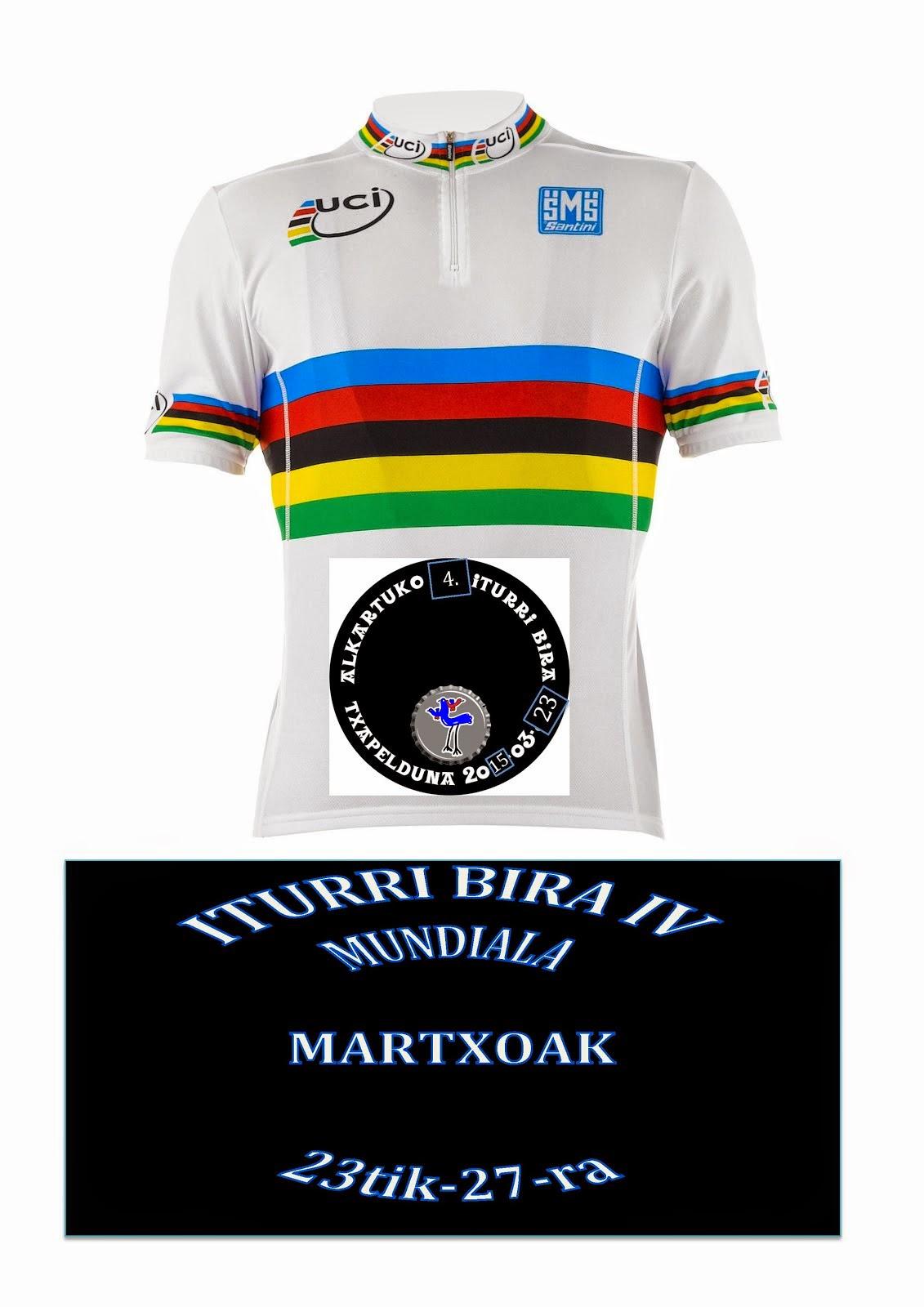 ITURRI BIRA  IV Martxoak 23tik_27ra bitarte.