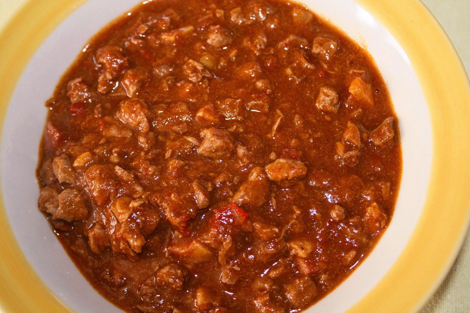 chili ricetta tex-mex