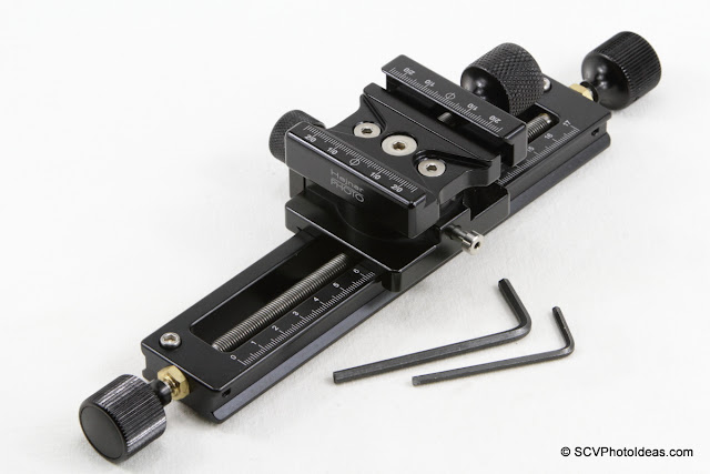 Hejnar PHOTO MS-3 Geared Macro Focusing Rail