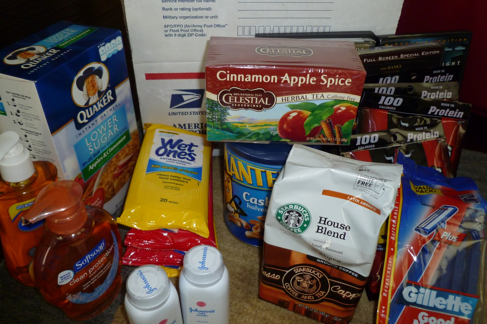 Cookie recipes for care packages