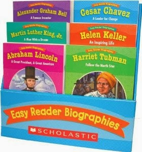 http://www.amazon.com/Scholastic-Easy-Reader-Biographies-Classroom/dp/B0062TP16G
