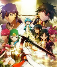 Magi The Kingdom of Magic